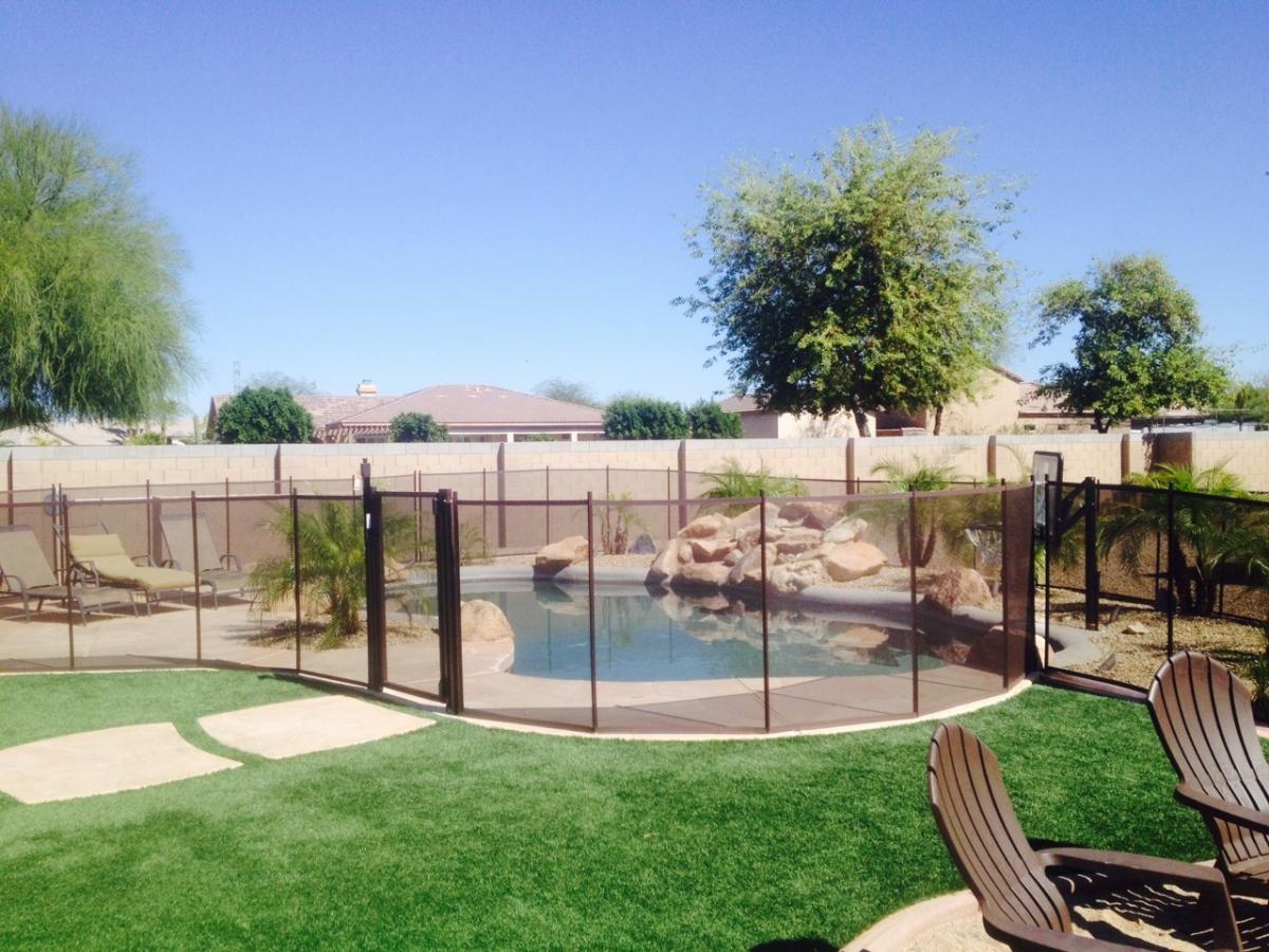 mesh pool fence arizona