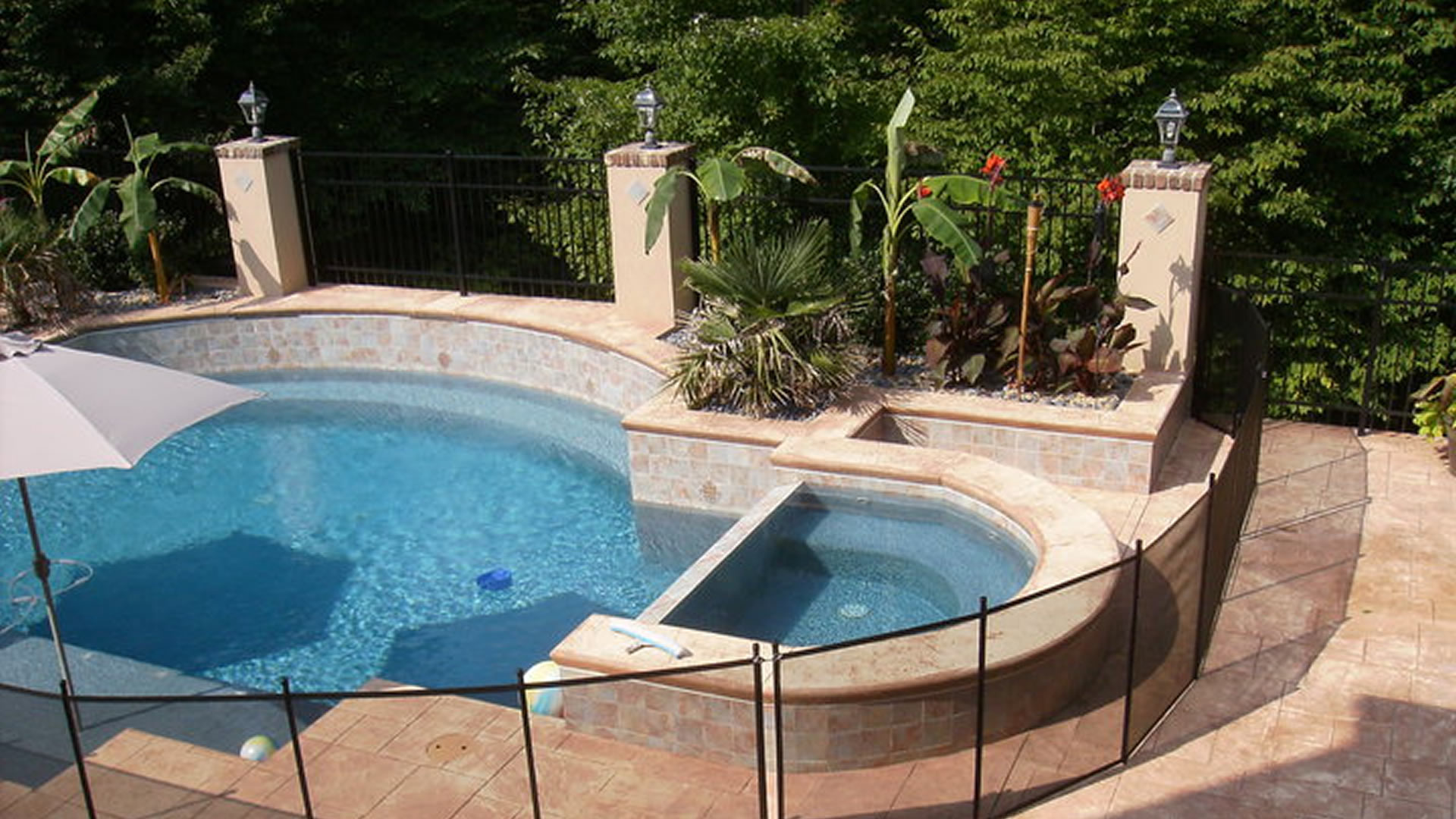 Pool Barrier Of Arizona Iron Fences Mesh Fences Pool Covers